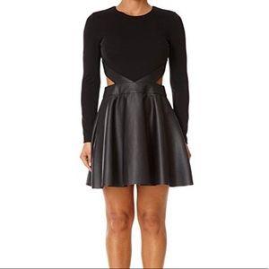 Forever Unique Black Long Sleeve Dress